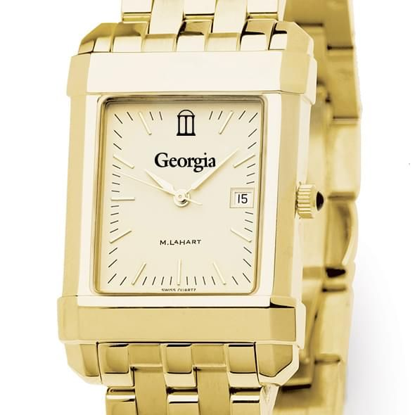 Georgia Men's Gold Quad with Bracelet