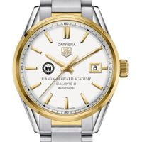 Coast Guard Academy Men's TAG Heuer Two-Tone Carrera with Bracelet