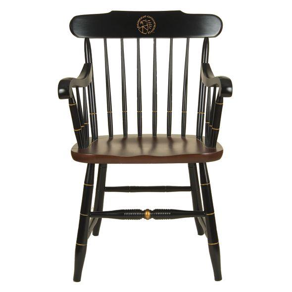 Purdue University Captain's Chair by Hitchcock