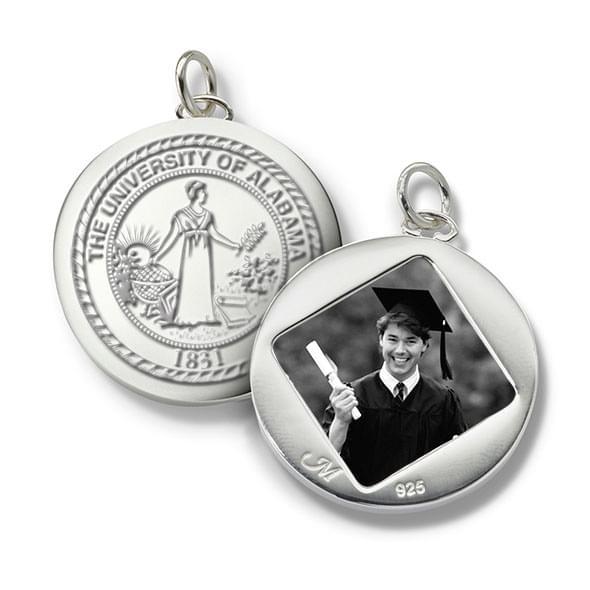 Alabama Monica Rich Kosann Round Charm in Silver