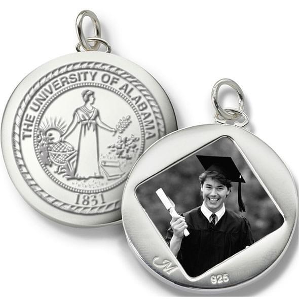 Alabama Monica Rich Kosann Round Charm in Silver - Image 2