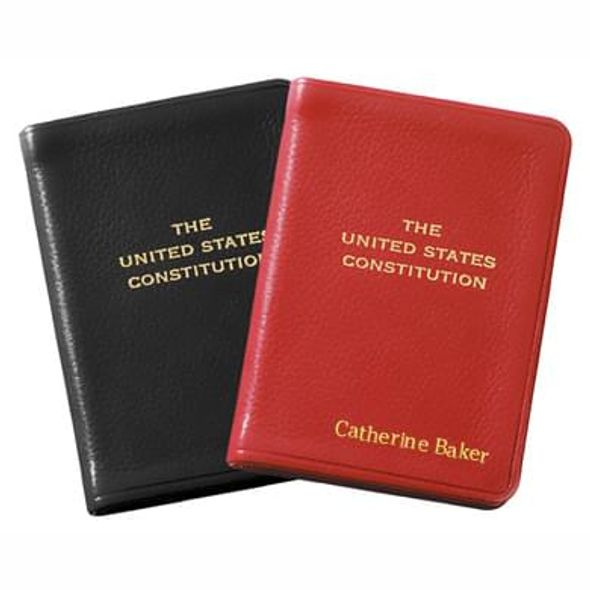 Mini Leather US Constitution - Image 1