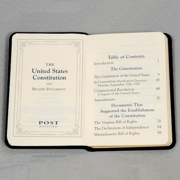 Mini Leather US Constitution - Image 3