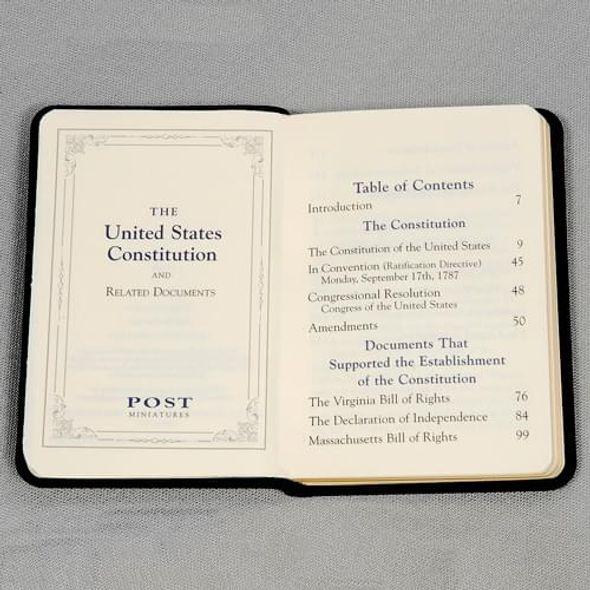 Mini Leather US Constitution - Image 3