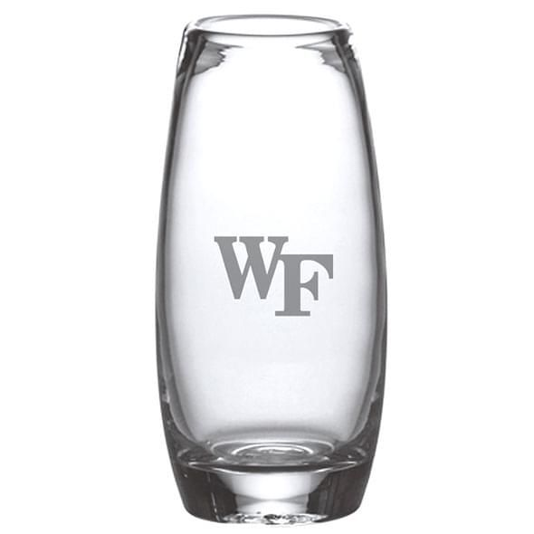 Wake Forest Glass Addison Vase by Simon Pearce