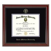 James Madison University Diploma Frame, the Fidelitas