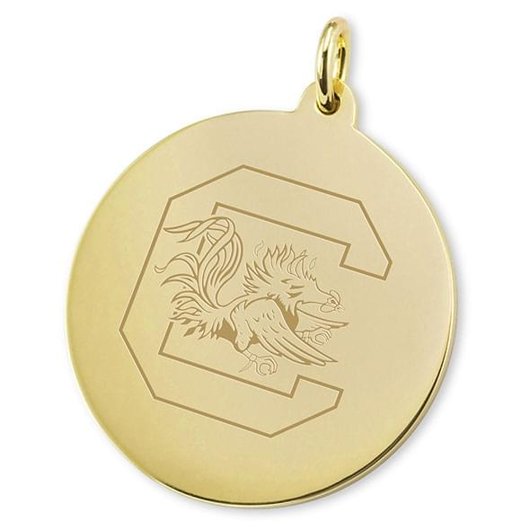 South Carolina 14K Gold Charm - Image 2