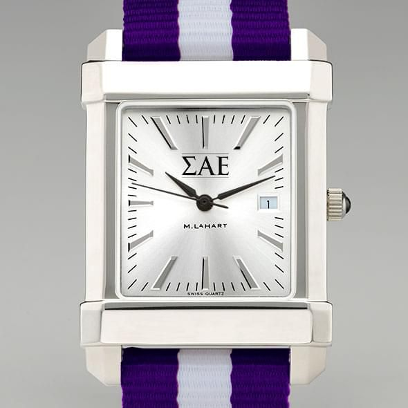 Sigma Alpha Epsilon Men's Collegiate Watch w/ NATO Strap - Image 1