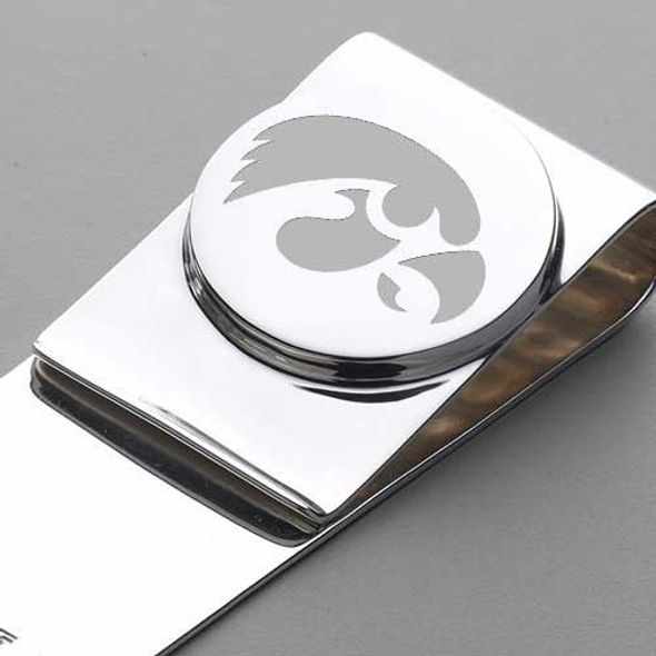 University of Iowa Sterling Silver Money Clip - Image 2