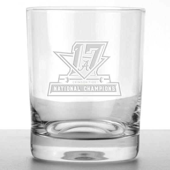 Alabama Crimson Tide 2017 National Championship Tumbler Glasses - Set of 4 - Image 2