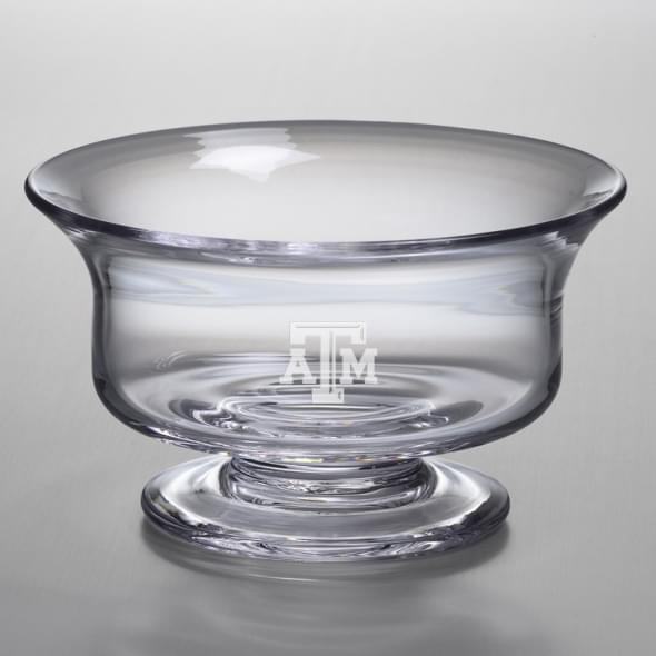 Texas A&M Medium Glass Revere Bowl by Simon Pearce