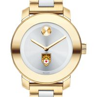 Lehigh University Women's Movado Two-Tone Bold