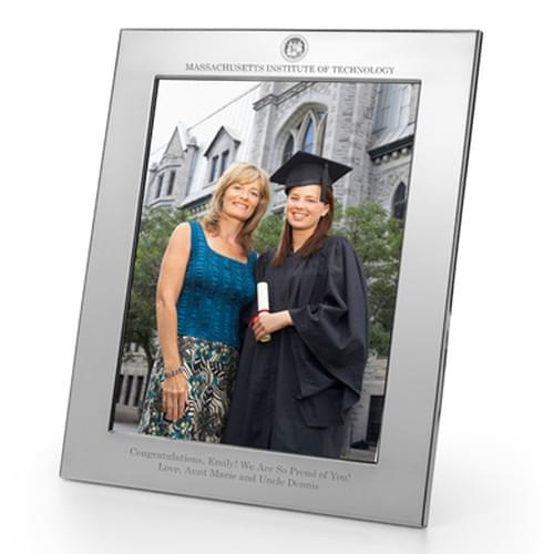 MIT Polished Pewter 8x10 Picture Frame - Image 1