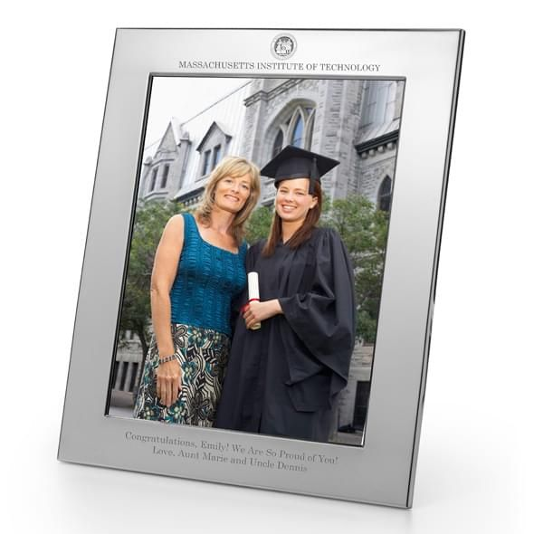 MIT Polished Pewter 8x10 Picture Frame - Image 2