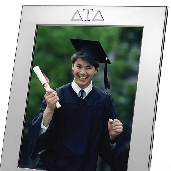 Delta Tau Delta Polished Pewter 8x10 Picture Frame - Image 2