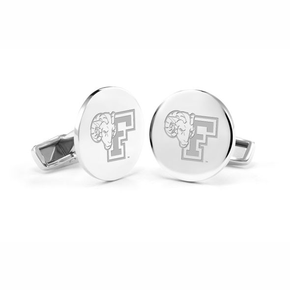 Fordham Cufflinks in Sterling Silver