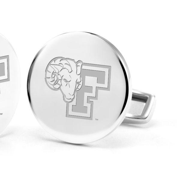 Fordham Cufflinks in Sterling Silver - Image 2