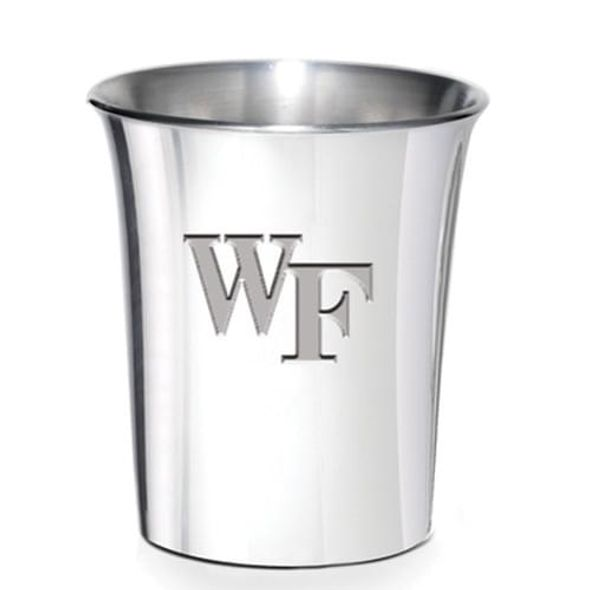 Wake Forest Pewter Jigger