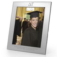 Delta Gamma Polished Pewter 8x10 Picture Frame