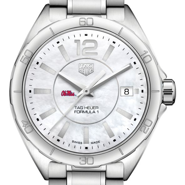 University of Mississippi Women's TAG Heuer Formula 1 with MOP Dial