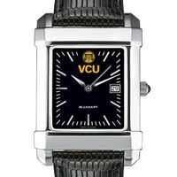 VCU Men's Black Quad with Leather