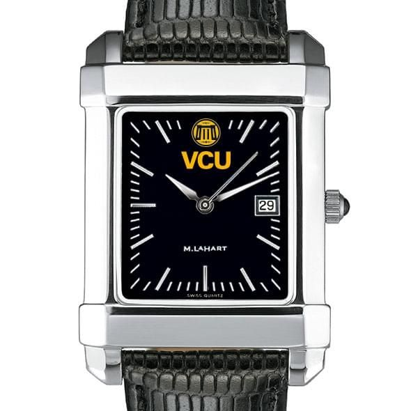 VCU Men's Black Quad with Leather - Image 1