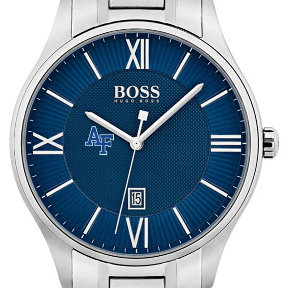 US Air Force Academy Men's BOSS Classic with Bracelet from M.LaHart