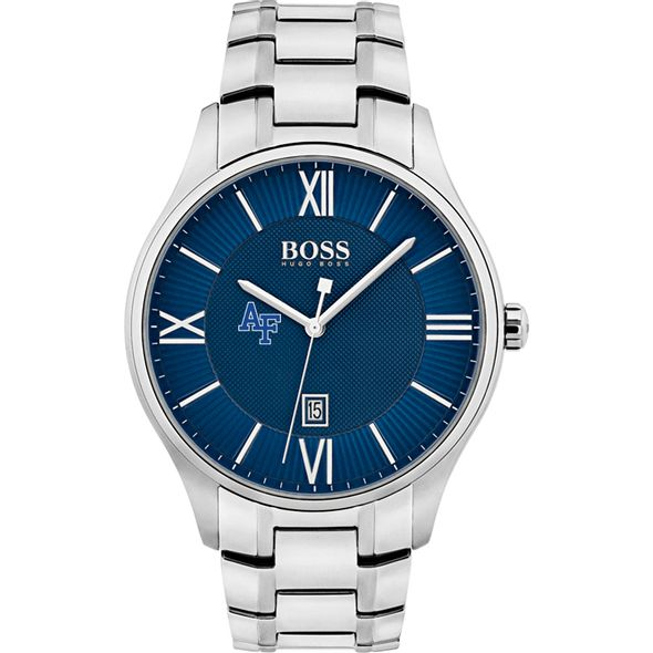 US Air Force Academy Men's BOSS Classic with Bracelet from M.LaHart - Image 2