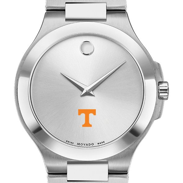 Tennessee Men's Movado Collection Stainless Steel Watch with Silver Dial - Image 1