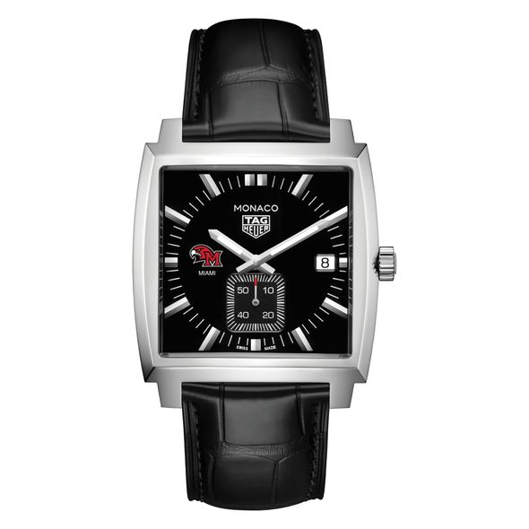 Miami University TAG Heuer Monaco with Quartz Movement for Men - Image 2