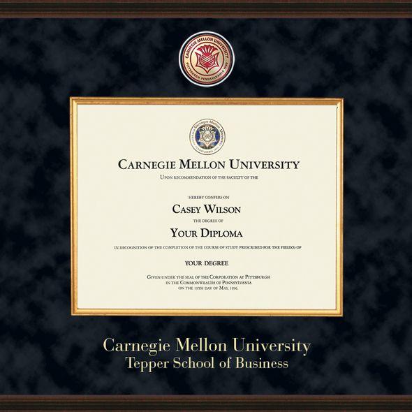 Tepper Diploma Frame - Excelsior - Image 2