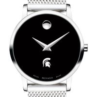 Michigan State University Women's Movado Museum with Mesh Bracelet