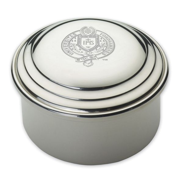 Fordham Pewter Keepsake Box - Image 1