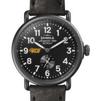VCU Shinola Watch, The Runwell 41mm Black Dial