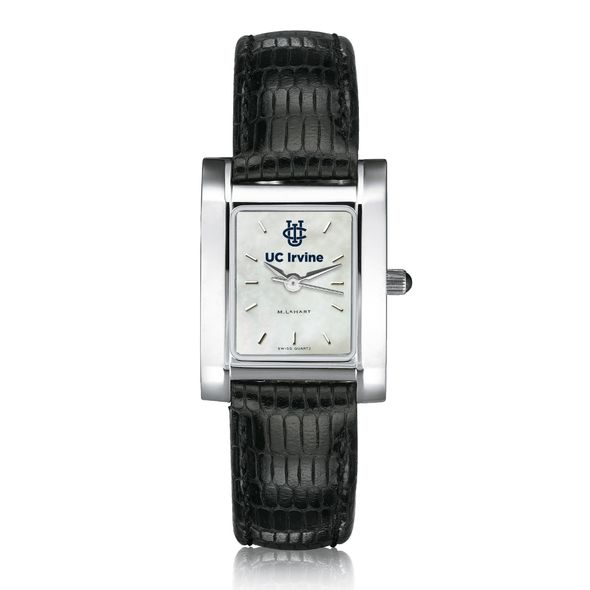 UC Irvine Women's MOP Quad with Leather Strap - Image 2