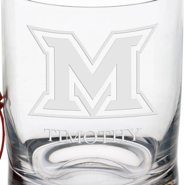 Miami University in Ohio Tumbler Glasses - Set of 2 - Image 3