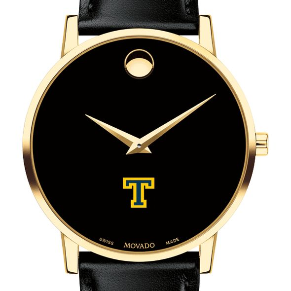 Trinity College Men's Movado Gold Museum Classic Leather