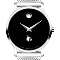 University of Louisville Women's Movado Museum with Mesh Bracelet
