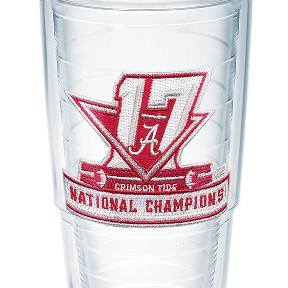 Alabama Crimson Tide 2017 National Championship 24 oz. Tervis Tumblers - Set of 4 - Image 2
