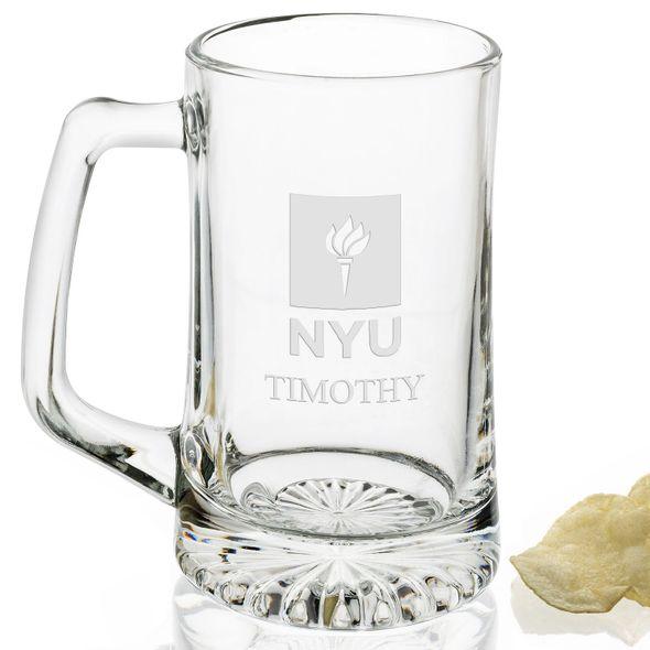 NYU 25 oz Beer Mug - Image 2