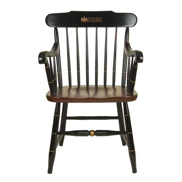 Seton Hall Captain's Chair by Hitchcock - Image 1