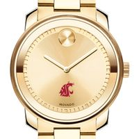 Washington State University Men's Movado Gold Bold