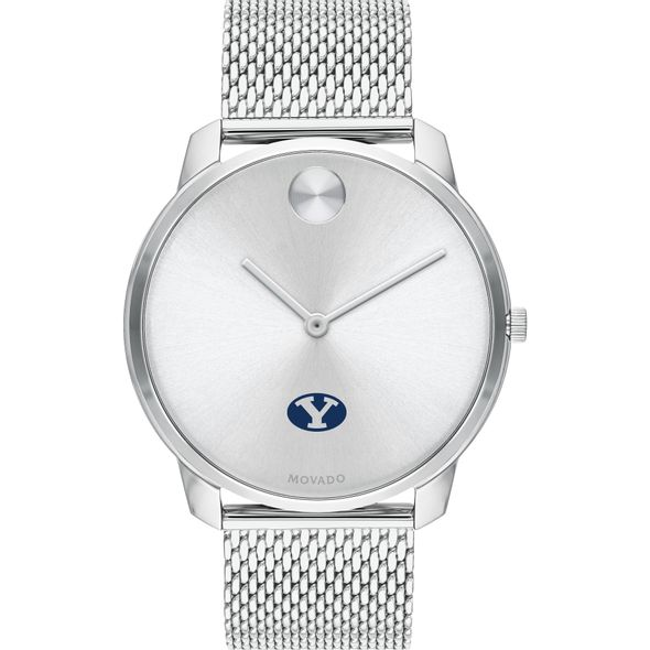 Brigham Young University Men's Movado Stainless Bold 42 - Image 2