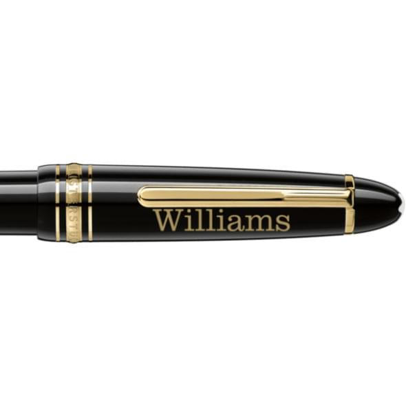 Williams College Montblanc Meisterstück LeGrand Ballpoint Pen in Gold - Image 2