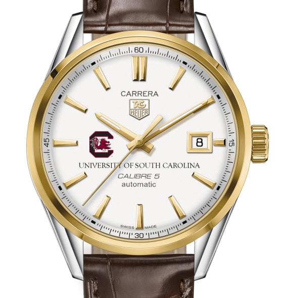 South Carolina Men's TAG Heuer Two-Tone Carrera with Strap