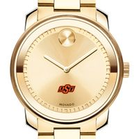 Oklahoma State University Men's Movado Gold Bold