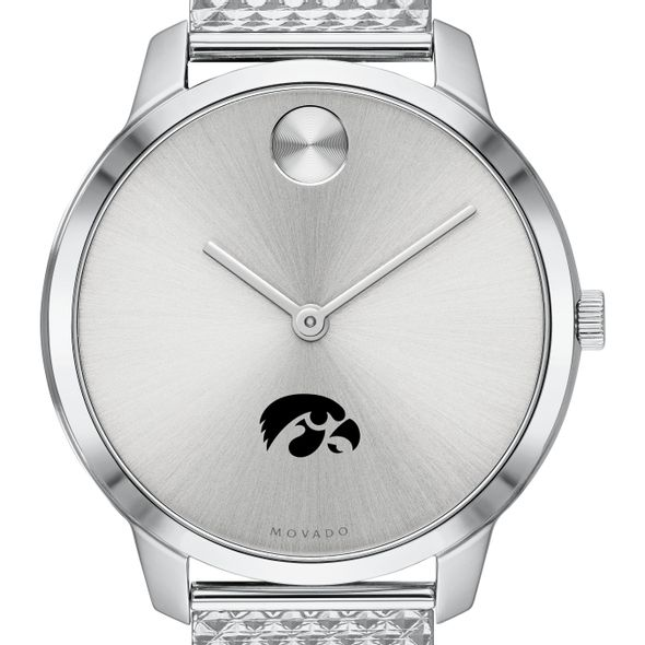 University of Iowa Women's Movado Stainless Bold 35