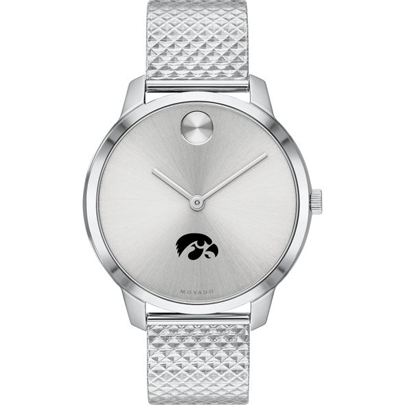 University of Iowa Women's Movado Stainless Bold 35 - Image 2
