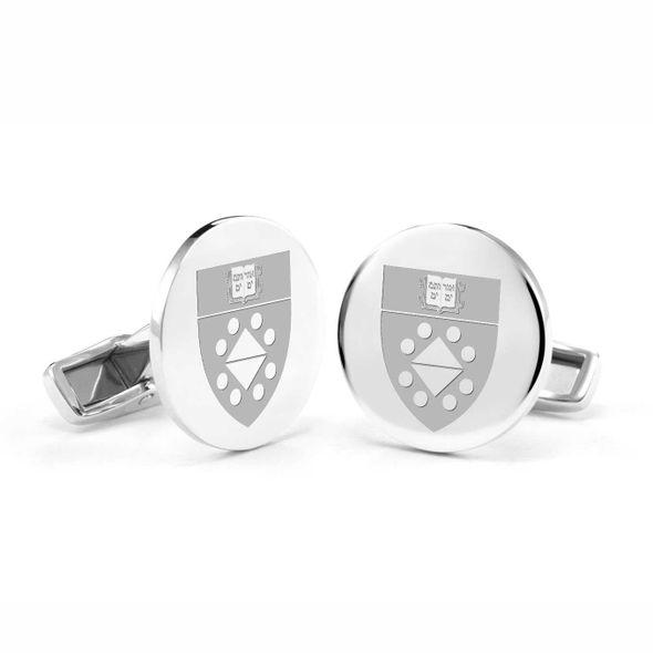 Yale SOM Cufflinks in Sterling Silver - Image 1