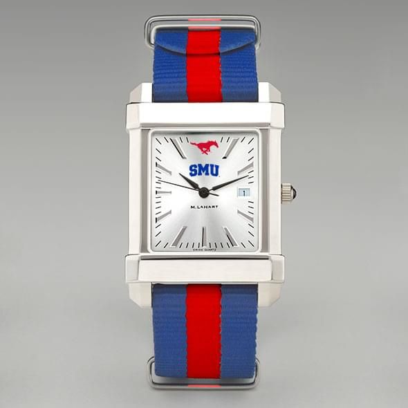Southern Methodist University Collegiate Watch with NATO Strap for Men - Image 2